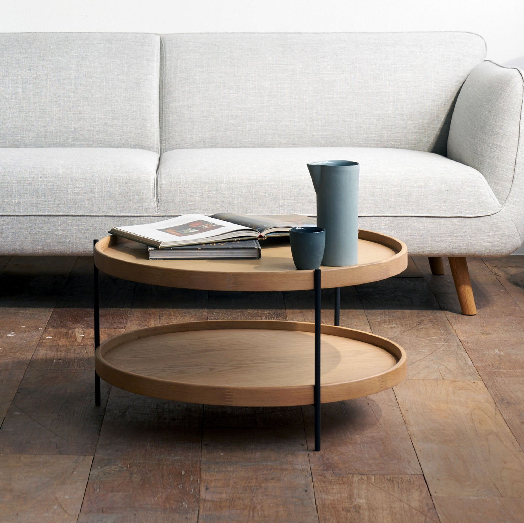 Teak Round Coffe table