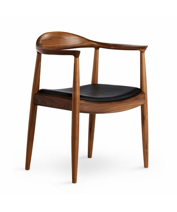 teak designer chair