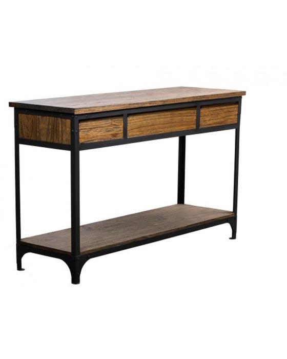Teak Reclaimed console table