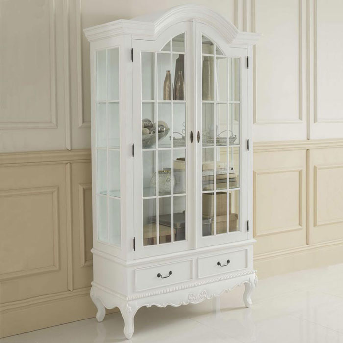 Shabbychic display cabinet
