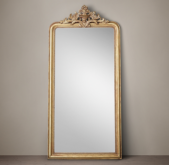 Gold Glit Mirror