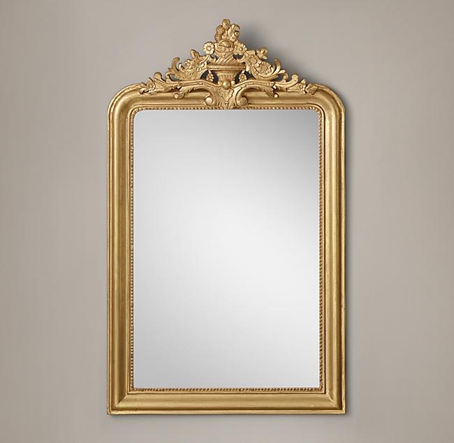 Gold Glit Mirror